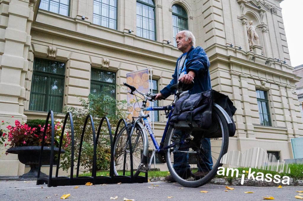 Mádai Ferenc nyugdíjas bringás