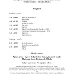 Program - 2014. november 8-9.