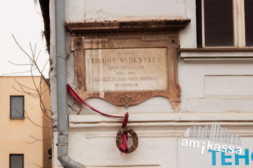 Tinódi Lantos Sebestyén háza